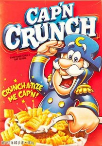 Captain Crunch box cover
